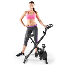 Load image into Gallery viewer, Marcy Foldable Bike in Black | NS-654