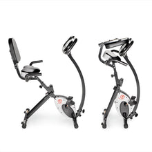 Load image into Gallery viewer, Marcy Foldable Exercise Bike with High Back Seat NS-653
