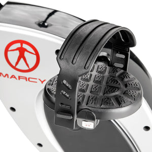 Marcy Foldable Exercise Bike with High Back Seat NS-653
