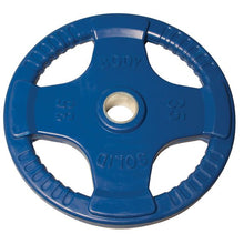 Load image into Gallery viewer, BODY SOLID Color Rubber Grip Olympic Plates
