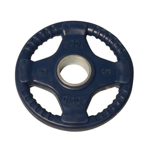 BODY SOLID Color Rubber Grip Olympic Plates