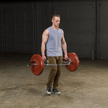 Load image into Gallery viewer, BODY SOLID Olympic Shrug Bar (Raised Handles)