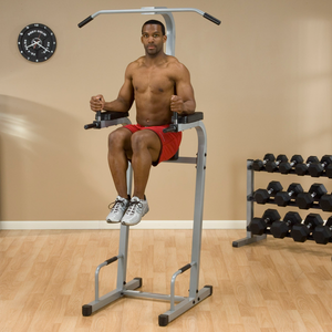 POWERLINE VERTICAL KNEE RAISE DIP PUSH-UP CHIN-UP PVKC83X