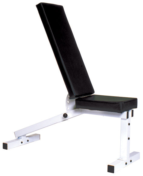 YORK Pro Series 206ID White – w/ Adjustable Incline / Decline Bench