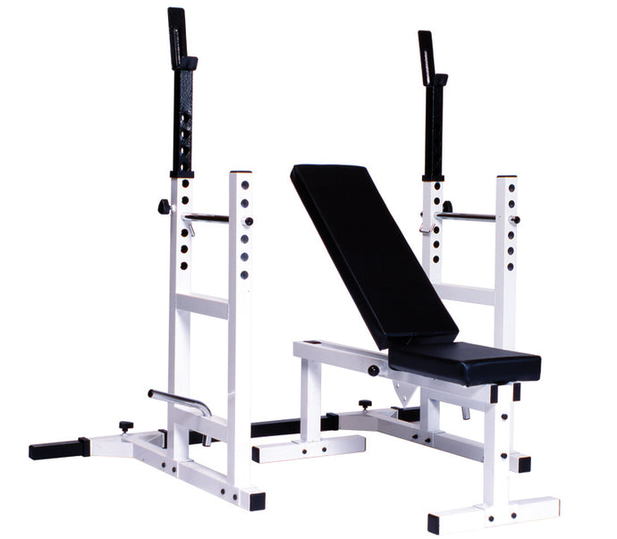 Pro Series 209 With 205 FI Bench plus 204 Cage Attachment