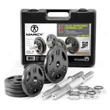 Load image into Gallery viewer, MARCY Iron 40lb Adjustable Dumbbell Set with Carrying Case | Marcy ADS-42