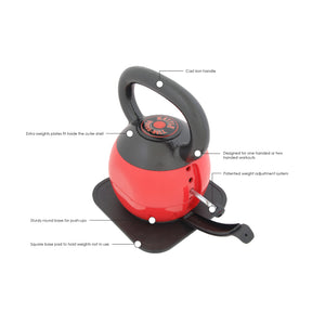 STAMINA® 36 LB. ADJUSTABLE KETTLE VERSA-BELL