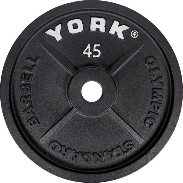 YORK Cast Iron Olympic 2″ Weight Plates