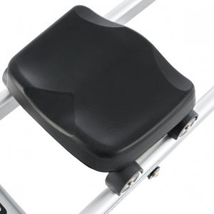 "LARGE SEAT Large ergonomically molded seat for ultimate comfort with a 15"" seat height to get users on and off with ease."