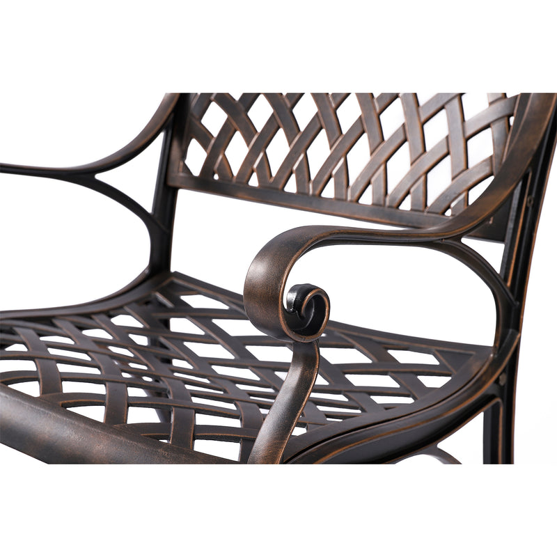 Aiden Chair Set in Antique Bronze