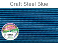 Econo Flex 7 Strand .019 Inch Diameter, 30 feet Beading Wire, Steel Blue. (Sold as - 1 Spool Per Pack)