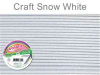Econo Flex 7 Strand .019 Inch Diameter, 30 feet Beading Wire, Snow White. (Sold as - 1 Spool Per Pack)