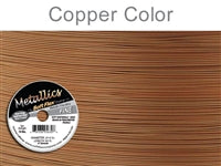 Soft Flex 21 Strand .014 Inch Diameter, 100 feet Beading Wire, Copper Color. (Sold as - 1 Spool Per Pack)