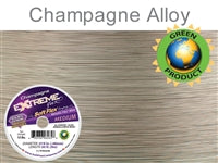 Soft Flex 19 Strand .019 Inch Diameter, 50 feet Extreme Flex Wire, Champagne. (Sold as - 1 Spool Per Pack)