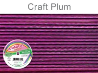 Econo Flex 7 Strand .019 Inch Diameter, 30 feet Beading Wire, Plum. (Sold as - 1 Spool Per Pack)