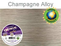 Soft Flex 19 Strand .019 Inch Diameter, 30 feet Extreme Flex Wire, Champagne. (Sold as - 1 Spool Per Pack)