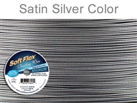 Soft Flex 49 Strand .019 Inch Diameter, 100 feet Beading Wire, Original. (Sold as - 1 Spool Per Pack)