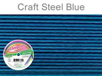 Econo Flex 7 Strand .010 Inch Diameter, 30 feet Beading Wire, Steel Blue. (Sold as - 1 Spool Per Pack)