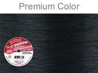 Soft Flex Soft Touch 7 Strand .010 Inch Diameter, 100 Feet Wire, Premium Black. (Sold as - 1 Spool Per Pack)