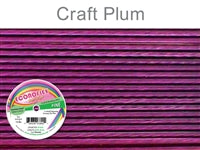 Econo Flex 7 Strand .014 Inch Diameter, 30 feet Beading Wire, Plum. (Sold as - 1 Spool Per Pack)
