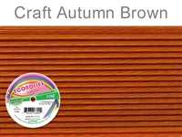 Econo Flex 7 Strand .014 Inch Diameter, 30 feet Beading Wire, Autumn Brown. (Sold as - 1 Spool Per Pack)