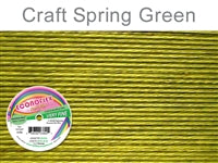 Econo Flex 7 Strand .010 Inch Diameter, 30 feet Beading Wire, Spring Green. (Sold as - 1 Spool Per Pack)