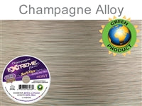 Soft Flex 19 Strand .024 Inch Diameter, 50 feet Extreme Flex Wire, Champagne. (Sold as - 1 Spool Per Pack)