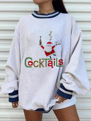Christmascasual pullover sweater