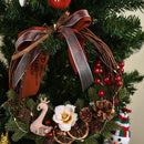 Christmas Decoration Creative Swan Lemon Wreath