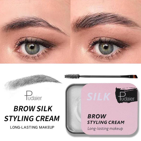 WILD & NATURAL EYEBROW SILK STYLING GEL | PUDAIER®
