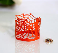 Load image into Gallery viewer, Halloween Decoration Electronic Candle Lace