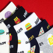 Heysweeta Hamburger and Potatoes Chips Printing【10 Pairs】