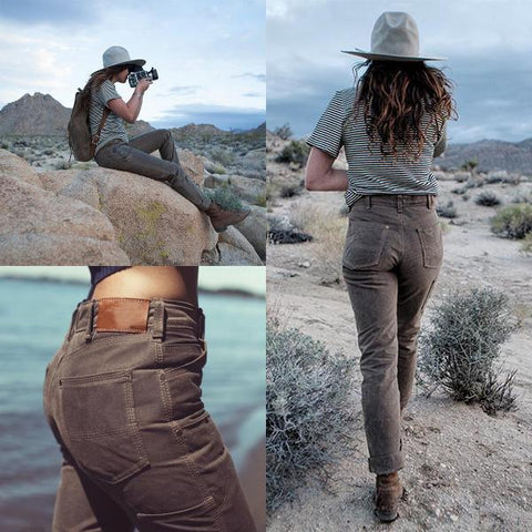 Women's Canvas Breathable Pocket Work Pants