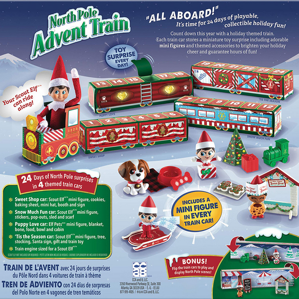 Christmas 24 Days Countdown Train