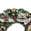 """Christmas Village"" Wreath"