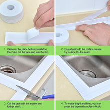 Load image into Gallery viewer, Waterproof & Adhesive Caulk Strip