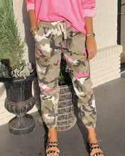 Load image into Gallery viewer, Spelesy Neon Camo Joggers