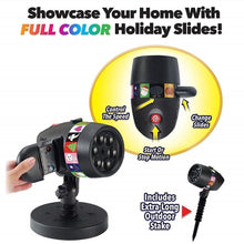 Load image into Gallery viewer, Christmas Halloween Home Decoration Projector Lights (12 Patterns)