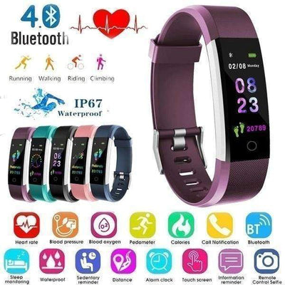 【BUY 1 GET 1 FREE TODAY】IP67 Smart Sports Wristband Activity Fitness Tracker