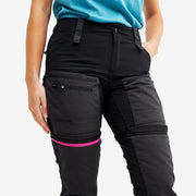 Women's Detachable Leg Zipper Sports Casual Pants