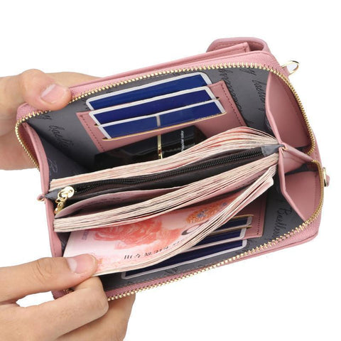 Shoulder Bag Women's Multifunction Phone Bag