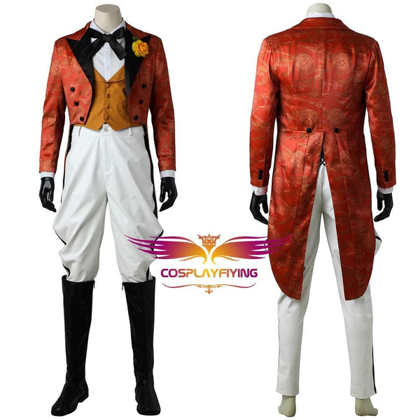 DC Comics Joker Gotham Jerome Valeska Cosplay Costume for Halloween Carnival