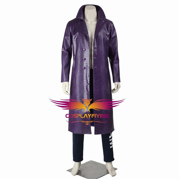 DC Comics Suicide Squad Jared Leto Joker Cosplay Costume Version A For Halloween Carnival