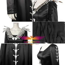 Load image into Gallery viewer, Disney Maleficent 2 Mistress of Evil Black Dress Robe Cosplay Costume for Halloween Carnival