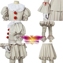 Load image into Gallery viewer, Horror Movie It Chapter Two Stephen King's It Pennywise The Dancing Clown Cosplay Costume for Carnival Halloween