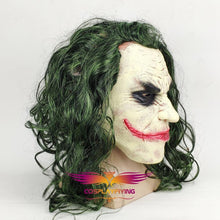 Load image into Gallery viewer, Movie Batman: The Dark Knight Suicide Squad Horror Clown The Joker Cosplay Wig With Mask Cosplay for Boys Adult Men Halloween Carnival