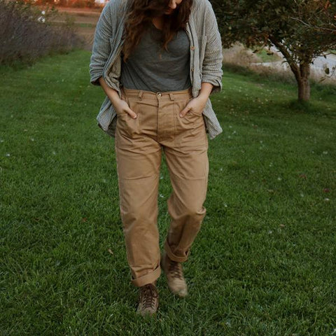 Women's Comfortable Large Pocket Work Pants