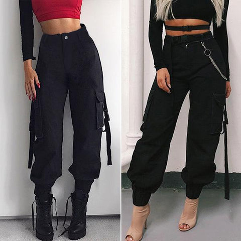 Casual Multiple-pocket Loose Cargo Pants