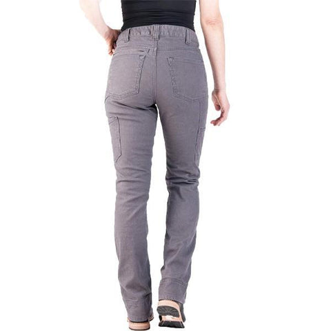 Women's Stretch Canvas Straight  Casual Cargo Pants