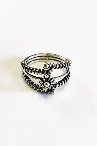 Mona Sterling Silver Ring